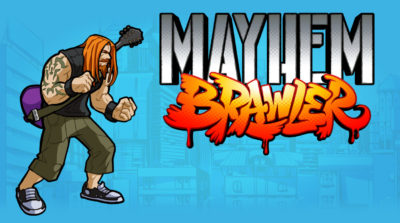 Heavy Caster aka Steven Grosskopf of Mayhem Brawler